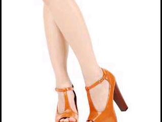 burnt orange heels from bodymate fashion...
