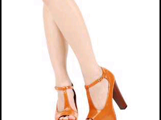 burnt orange heels from bodymate fashion...