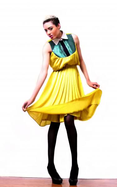 this is my dress to wear for the year...kemkem studio..peter pan collar dress..