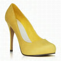 yellow pumps from justfabulous.com personalised boutique