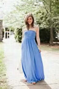 blue maxi from beach to night...i love!!!