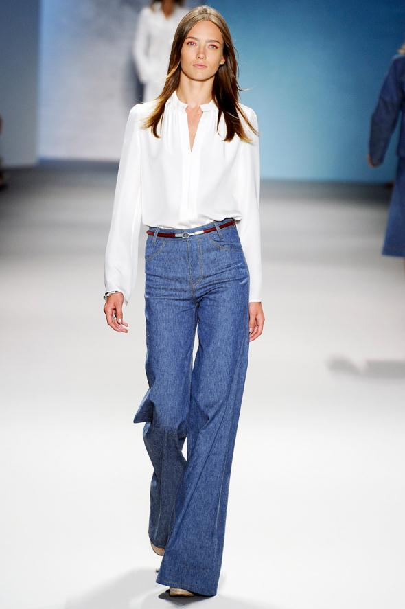 70's denim in blue..check.style hit
